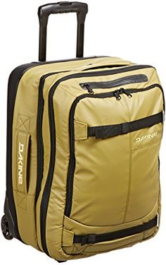 DaKine Mens Deluxe Carry On 46L Luggage BagGreenOne Size ** This is an Amazon Affiliate link. Want additional info? Click on the image.