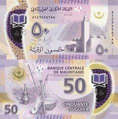 Mauritania 50 Ouguiya 2017
