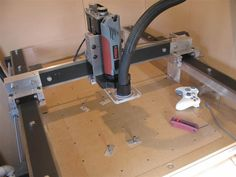 My CNC router! Took me one and a half years to design and build.
