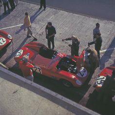 1959 24h du Mans n°23 Dino 196S #0740