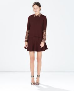 Image 1 of PLEATED MINI SKIRT from Zara