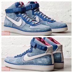 Nike Air Force 1 Downtown Hi (Slate Leather)