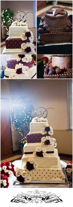 love this wedding cake! so aggie(: my wedding is going to be SO red ass<3