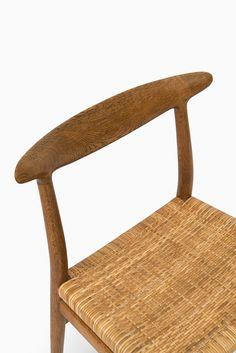 Hans Wegner dining chairs model W2 by C.M Madsen at Studio Schalling