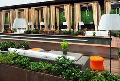 Sheraton Grand Los Angeles - Deck, Casual Seating