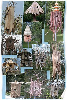 Bird houses from scraps!