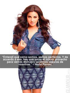 Las frases más glamorosas de las it girls que protagonizaron nuestra portada Maite Perroni, en la edición de Julio 2012.