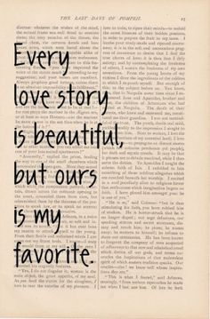 Type up your love story in a nutshell on word and put on old paper with a cool font. Frame and write on glass with glass paint.