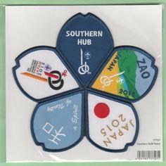2015-world-scout-jamboree-Japan-Scout-Shop-official-SOUTHERN-HUB-patch-badge