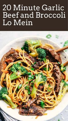 Lo mein might already be considered one of your go-tos whilst ordering Chinese takeout. Skip spending cash and make this dish at domestic in only half-hour! Hotdish Recipes, Healthy Casserole Recipes, Yummy Pasta Recipes, Beef Recipes, Chicken Recipes, Dinner Recipes, Healthy Recipes, Easy Recipes, Lunch Recipes
