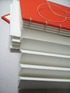accordion fold album binding, construction