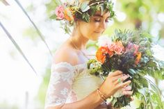 Boho Bride Inspiration See more here: http://www.angiediazphotography.com