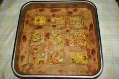 Quiche di zucchine e peperoni - Una quiche di verdure leggera e gustosa. Le zucchine e i peperoni donano un gusto dolce e delicato.