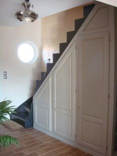 1000 ideas about placard sous escalier on pinterest meuble sous escalier closet and under for Placards sous escalier