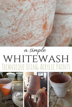 Whitewashing is such a classic, time-worn look and looks great every season. Get the look in just a couple of easy steps! By SnazzyLittleThings.com