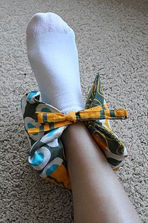 Warm ankle rice wrap -- can size up for larger joints! by craftapple