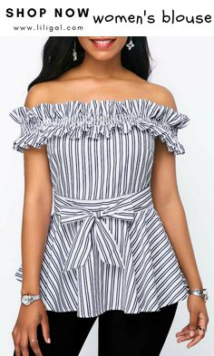 Shop Womens Fashion Tops, Blouses, T Shirts, Knitwear Online African Fashion Dresses, Hijab Fashion, Fashion Outfits, Womens Fashion, Blouse Styles, Blouse Designs, Sewing Blouses, Trendy Tops For Women, Western Dresses