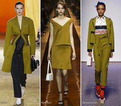 Spring/ Summer 2016 Color Trends: Olive #trends #fashion #SS2016