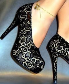 shoes with grey leopard print
