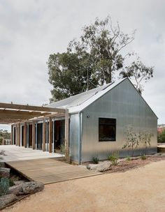 One Bedroom House, Farm Shed, Gazebo, Modern Barn House, Australian Homes, Australian Country Houses, Australian Farm, Shed Homes, Shed Design