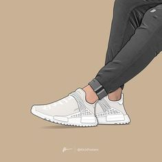 How to get Human Race Adidas HU Cream White sneakers - Original Human Race Adidas - Shoes Human Race Shoes, Adidas Human Race, Rare Sneakers, White Sneakers, Sneakers Fashion, Fashion Shoes, Sneakers Wallpaper, Shoes Wallpaper, Nike Wallpaper Iphone