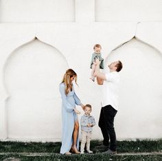 Adorable Family Photos with 2 Kids