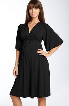 Olian Maternity Empire Waist Dress | Nordstrom