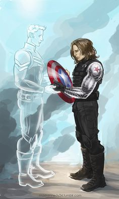 Captain America: The Winter Soldier - Memories by maXKennedy on deviantART  This has a Civil War feel to it...Possible future?