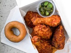 Best Fried Chicken in the U. on Food & Wine Michael Solomonov's Federal Donuts; Philadelphia Fried Chicken and donuts. Wine Recipes, Food Network Recipes, Cooking Recipes, Federal Donuts, National Fried Chicken Day, Restaurants, Fried Chicken Recipes, Pasta, Game Day Food