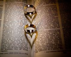 Image result for wedding ring on bible