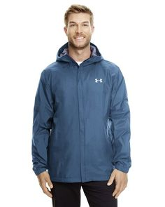 100% nylon UA Storm® technology repels water without sacrificing breathability 100% waterproof & breathable, with fully taped seams windproof materials and construction shield you from the elements two-layer bonded fabric with a durable, smooth exterior
