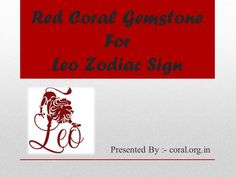Being #Leo ascendant means that person will be loyal, helpful, encouraging, ambitious and generous. In fact they can go at any extent to help their friends. Before figure out the #advantageous of wearing red coral #stone #benefits for Leo natives. Let's have look upon the positive and negative traits of Leo ascendants. https://youtu.be/mnuBz2Q0CcI