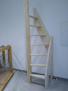 Tiny House Stairs, Loft Stairs, Tiny House Cabin, Tiny House Design, Loft Room, Bedroom Loft, Home Stairs Design, Home Interior Design, Interior Architecture