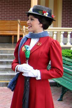 B's Halloween Costume - Mary Poppins