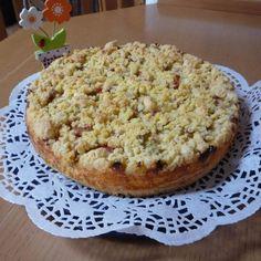 Rezept Quark-Streuselkuchen mit z.B. Brombeeren, Himbeeren, Rhabarber, Apfel... von Manuela-1977 - Rezept der Kategorie Backen süß