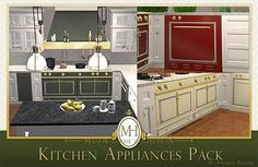 Mod The Sims - Manor House Collection: Kitchen Appliances Pack [Upd Mar. 18]