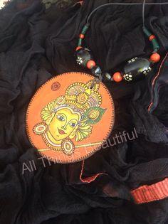 Kerala mural pendant