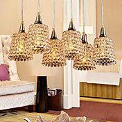 Artistic Golden 6 Light Pendant In Crystal De... – AUD $ 257.15 Cheap Pendant Lights, Light Pendant, Pendant Lighting, Crystal Design, Lighting Online, Ceiling Lights, Crystals, Artist, Kitchen