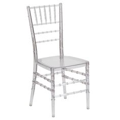 Clear Chiavari Chair - Free Shipping Today - Overstock.com - 17445750 - Mobile