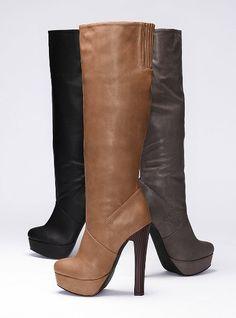 Colin Stuart Platform Slouch Boot #VictoriasSecret http://www.victoriassecret.com/sale/20-percent-off-colin-stuart-boots/platform-slouch-boot-colin-stuart?ProductID=65099=OLS?cm_mmc=pinterest-_-product-_-x-_-x