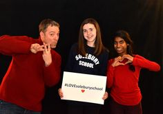 Share #LOVEsoleburyschool with History teacher and alumnus John Petito '96, Calli and Lakumi.  Make a donation now by clicking on the following link. http://www.solebury.org/giving/onlinegiving_qc.aspx