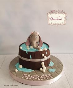 Cute elephant  by Bonboni Cake