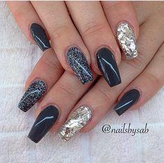 #nails #nailspolish #2016 #trend #autumn #beautiful #manicure #shiny #loveit