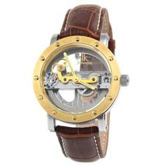 Buy IK Colouring - Brown Pristine Mechanical Watch for only Shop at Trendhim and get returns. We take pride in providing an excellent experience. Women's Skeleton Watch, Skeleton Watches, Boys Watches, Sport Watches, Fitness Watches For Women, Mens Designer Watches, Nato Strap, Mechanical Watch, Watch Brands