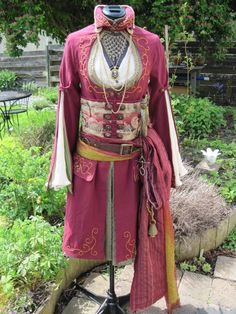She calls it Ottoman Steampunk. I don't think I'd, personally, say Ottoman, but, whatever. I'm not splittling hairs with a very talented, creative lady.  It's gorgeous!