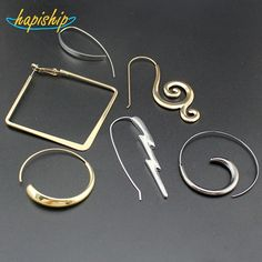 0.89$  Buy here - Hapiship 2017 New Hot 18Style Fashion Women's Jewelry Cool Hoop Earring XMAS Gift For Girls Lady 00ZZZZ   #magazineonlinewebsite