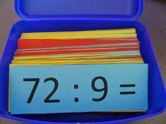 Hallo, hier vind je het materiaal dat ik zelf heb gemaakt. Er staat ook steeds een link bij naar het blogbericht. Alle links zijn normaal to... Teaching First Grade, Teaching Math, Primary School, Elementary Schools, Math Division, Singapore Math, Skills To Learn, Lessons For Kids, Math Classroom