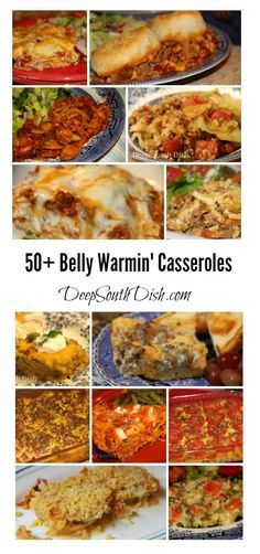 A collection of favorite casserole recipes from Deep South Dish.