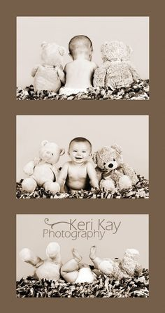 Idea to take baby pictures! cutest thing ever! SO CUTE! ♥