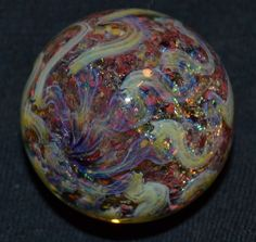 "RDH Marbles, Handmade Glass Borosilicate Marble 1.145"" #RDHMarble #Glass"